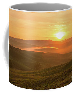 Coffee Mug featuring the photograph Tuscan Sunrise by Yuri Santin