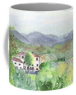 Tuscan Vineyards Coffee Mug