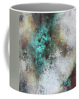 Tuscany Oil And Cold Wax Coffee Mug by Patricia Lintner
