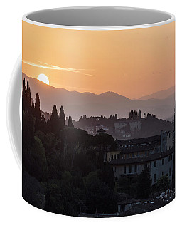 Tuscany Sunset In Florence Italy  Coffee Mug