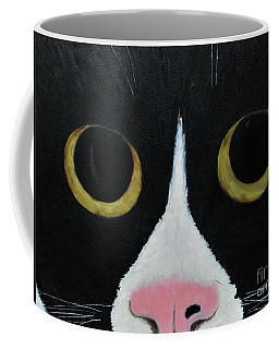 Tux Portrait  Coffee Mug by Reina Resto