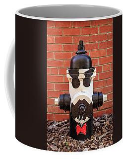 Tuxedo Hydrant Coffee Mug by James Eddy