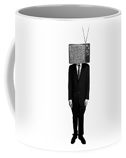 Tv Head Coffee Mug