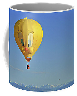Tweety Balloon Coffee Mug by Scott Mahon