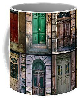 Twelve Gates Of My Hometown Coffee Mug by Jaroslaw Blaminsky