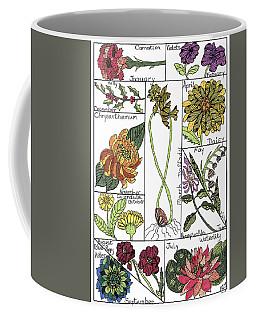 Twelve Month Flower Box Coffee Mug