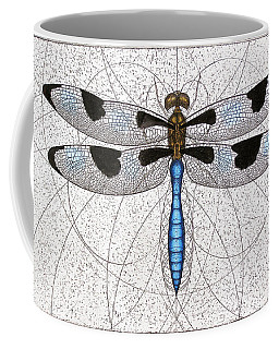 Twelve Spotted Skimmer Coffee Mug