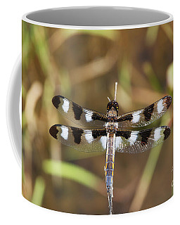 Twelve-spotted Skimmer Coffee Mug
