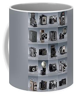 Twenty Old Cameras - Color Coffee Mug