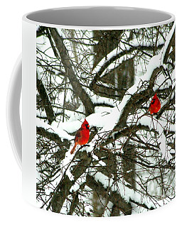 Coffee Mug featuring the photograph Twice Liked by Barbara S Nickerson