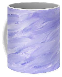Twig Cross On Purple Coffee Mug by Liz Masoner