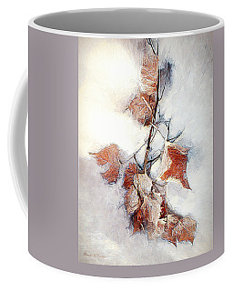 Coffee Mug featuring the photograph Twigged by Pennie  McCracken