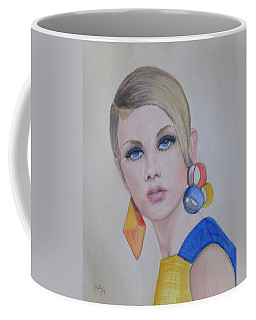 Twiggy The 60's Fashion Icon Coffee Mug