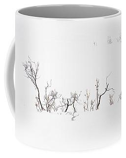 Twigs In Snow Coffee Mug
