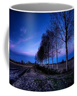 Twilight And Trees Coffee Mug