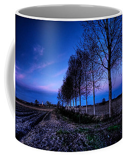Twilight And Trees Coffee Mug