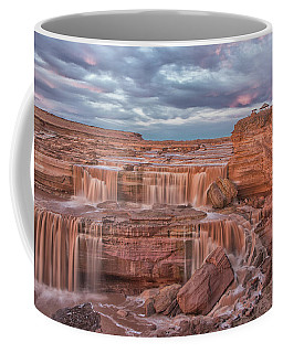 Twilight At Chocolate Falls Coffee Mug