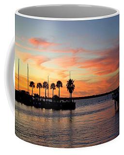 Twilight At The Marina Coffee Mug