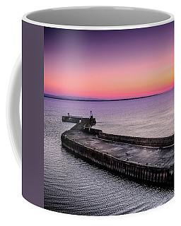 Twilight, Burghead Harbour Coffee Mug