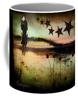Coffee Mug featuring the digital art Twilight by Delight Worthyn
