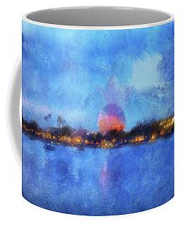 Twilight Epcot World Showcase Lagoon Wdw 02 Photo Art Mp Coffee Mug