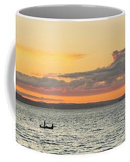 Twilight In Puget Sound  Coffee Mug
