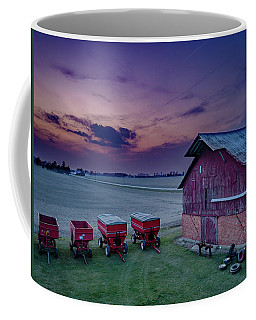 Twilight On The Farm Coffee Mug