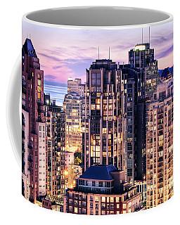Twilight At English Bay Vancouver Coffee Mug