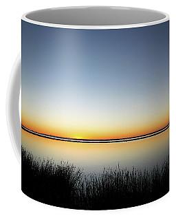 Twilight Stillness Down By The Beach Lagoon Coffee Mug