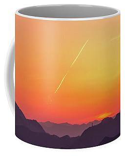 Coffee Mug featuring the photograph Twilight by Tatsuya Atarashi