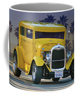 Coffee Mug featuring the photograph Twilight Tudor by Bill Dutting