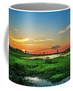 Coffee Mug featuring the photograph Twilights Arrival by Marvin Spates