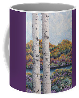 Twin Aspens Coffee Mug