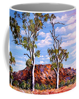 Twin Ghost Gums Of Central Australia Coffee Mug