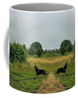 Twin Guards Coffee Mug