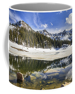 Twin Lakes Reservoir Melting Ice Coffee Mug
