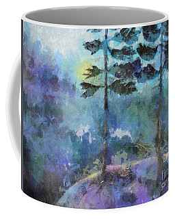 Coffee Mug featuring the photograph Twin Pines by Claire Bull