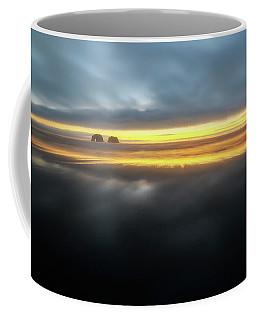 Twin Rocks Sunset Sliver Coffee Mug