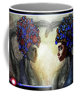 Twin Sisters Coffee Mug by Hartmut Jager