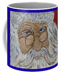 Twinkle In His Eye - Santa Coffee Mug