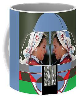 Twins Coffee Mug by Andrew Drozdowicz