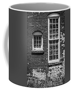 Coffee Mug featuring the photograph Twins - Bw by Christopher Holmes