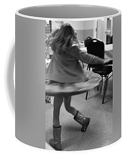 Twirling Girl  Coffee Mug