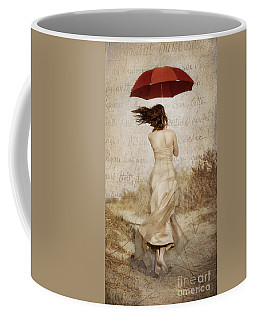 Twirling Painted Lady Coffee Mug
