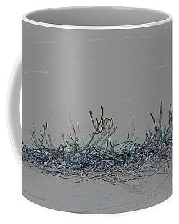 Coffee Mug featuring the digital art Twisted Vines by Ellen Barron O'Reilly