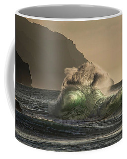 Twisted Wave Coffee Mug