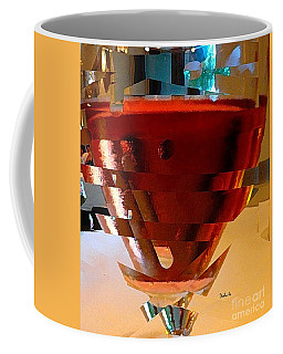 Twisted Wine Glass Coffee Mug