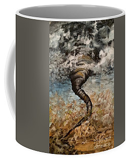 Twister On The Colorado Plains Coffee Mug
