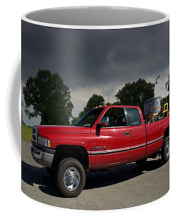 Twisters Movie Pickup With Dorothy Coffee Mug by Tim McCullough