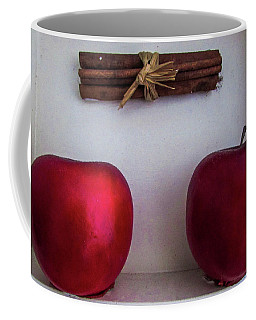 Two Apples Coffee Mug by Cesar Vieira